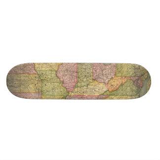 Pennsylvania 6 custom skateboard