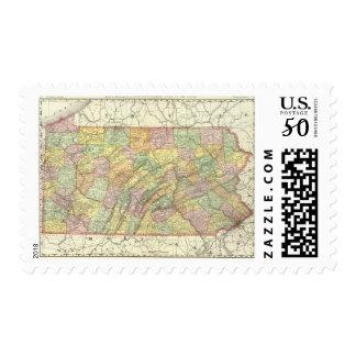 Pennsylvania 8 postage