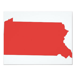 Pennsylvania -a RED state Card