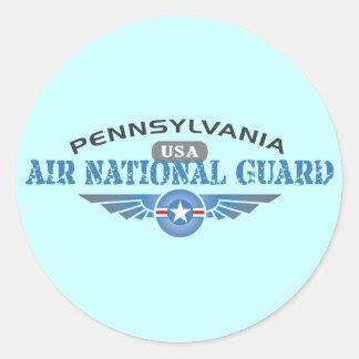 Pennsylvania Air National Guard Classic Round Sticker