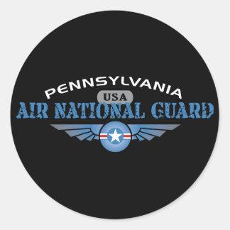 Pennsylvania Air National Guard Round Sticker