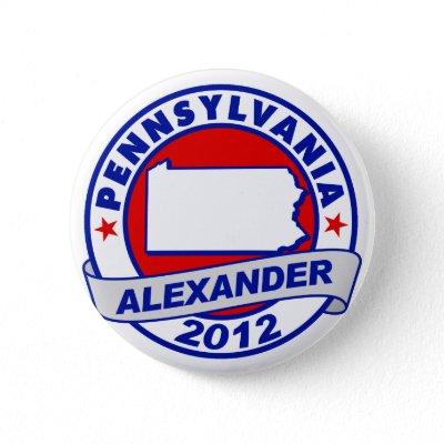 Pennsylvania Alexander pins
