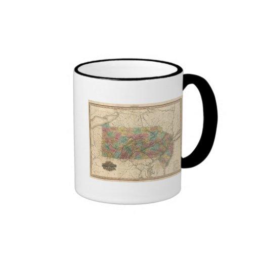 Pennsylvania and New Jersey Mug