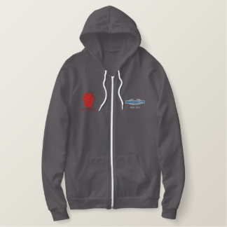 Pennsylvania ANG - 28th Infantry Embroidered Hoodie
