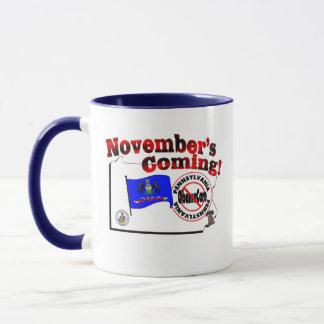 Pennsylvania Anti ObamaCare – November's Coming! Mug