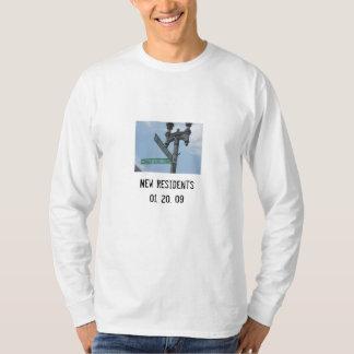 Pennsylvania Ave-  New Residents 01. 20. 09 T-Shirt