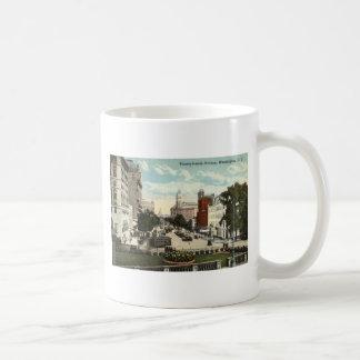 Pennsylvania Ave Washington DC Repro Vintage 1912 Coffee Mug