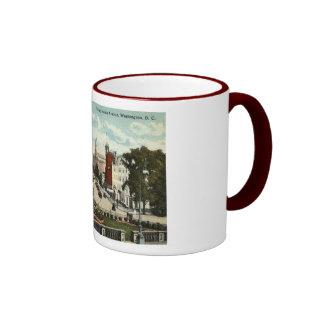 Pennsylvania Ave Washington DC Repro Vintage 1912 Ringer Mug