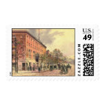 Pennsylvania Avenue and 6th Street 1860 Postage Stamps
