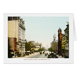Pennsylvania Avenue, Washington D.C. Greeting Card
