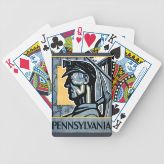 Pennsylvania! Bicycle Playing Cards
