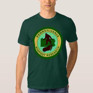 Pennsylvania Bigfoot Research Tee Shirt