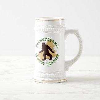Pennsylvania Bigfoot Tracker Beer Stein