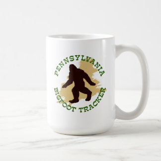Pennsylvania Bigfoot Tracker Mug