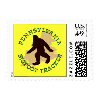 Pennsylvania Bigfoot Tracker Postage