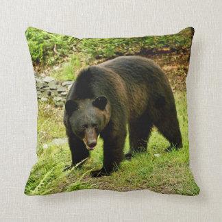 Pennsylvania Black Bear Throw Pillows