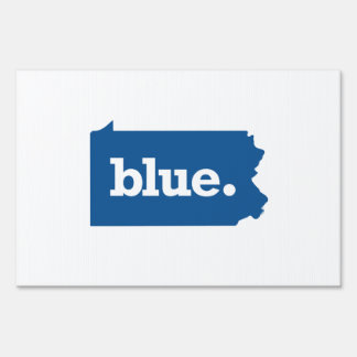 PENNSYLVANIA BLUE STATE SIGN