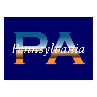 Pennsylvania Large Business Cards (Pack Of 100)