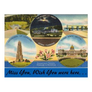 Pennsylvania, carretera de peaje postal