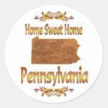 Pennsylvania casera dulce casera etiqueta redonda