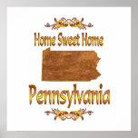 Pennsylvania casera dulce casera posters