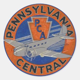 PENNSYLVANIA CENTRAL AIRWAYS. STICKERS