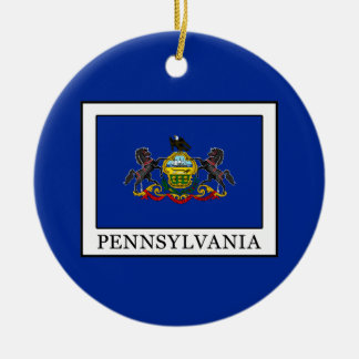 Pennsylvania Ceramic Ornament