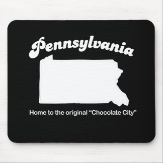 Pennsylvania - Chocolate city T-shirt Mouse Pads