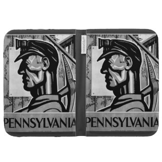 Pennsylvania Coal Poster 1938 Kindle 3G Cases