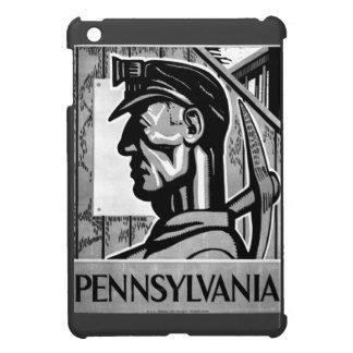 Pennsylvania Coal Poster 1938 Case For The iPad Mini