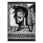 Pennsylvania Coal Poster WPA 1938 Card
