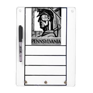 Pennsylvania Coal Poster WPA 1938 Dry-Erase Board
