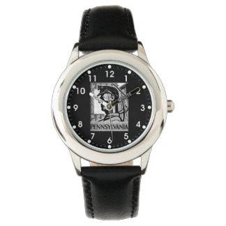 Pennsylvania Coal Poster WPA 1938 Wristwatch