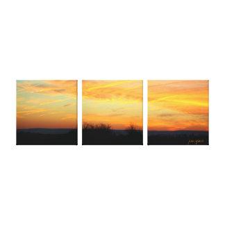 Pennsylvania Dawn Gallery Wrap Canvas