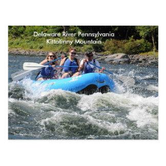 Pennsylvania Delaware River Kittatinny Mountain Postcard