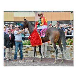 Pennsylvania Derby Winner - McKenzie Photo Print