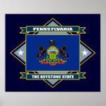 Pennsylvania Diamond Poster