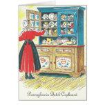 Pennsylvania Dutch Cupboard Liver Dumplings / Saus Greeting Card