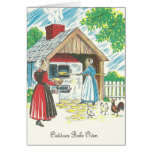 Pennsylvania Dutch Shoo Fly Pie Recipe Outdoor Bak Greeting Card