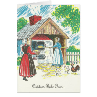 Pennsylvania Dutch Shoo Fly Pie Recipe Outdoor Bak Card