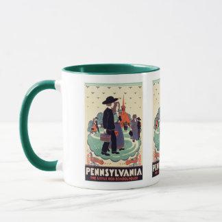 Pennsylvania Dutch Vintage Art Mug