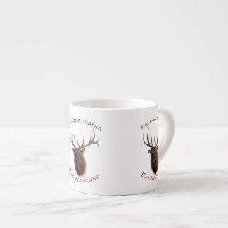 Pennsylvania Elk-Watcher 6 Oz Ceramic Espresso Cup