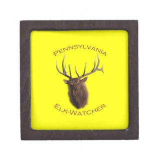 Pennsylvania Elk-Watcher Keepsake Box