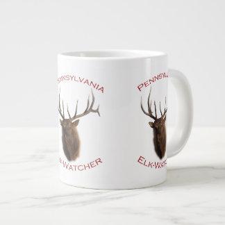 Pennsylvania Elk-Watcher Large Coffee Mug