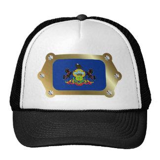 Pennsylvania enmarcó el gorra de la bandera