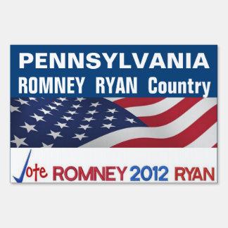 PENNSYLVANIA es muestra del país de Romney Ryan