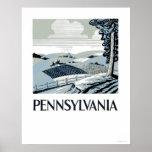 Pennsylvania Farm 1938 WPA Poster