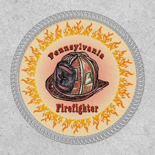 Pennsylvania Firefighter Patch