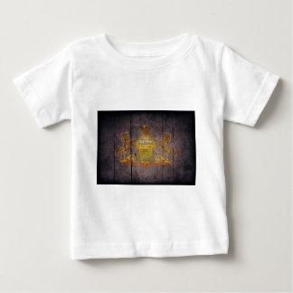 Pennsylvania flag baby T-Shirt