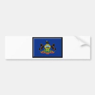 Pennsylvania Flag Bumper Sticker